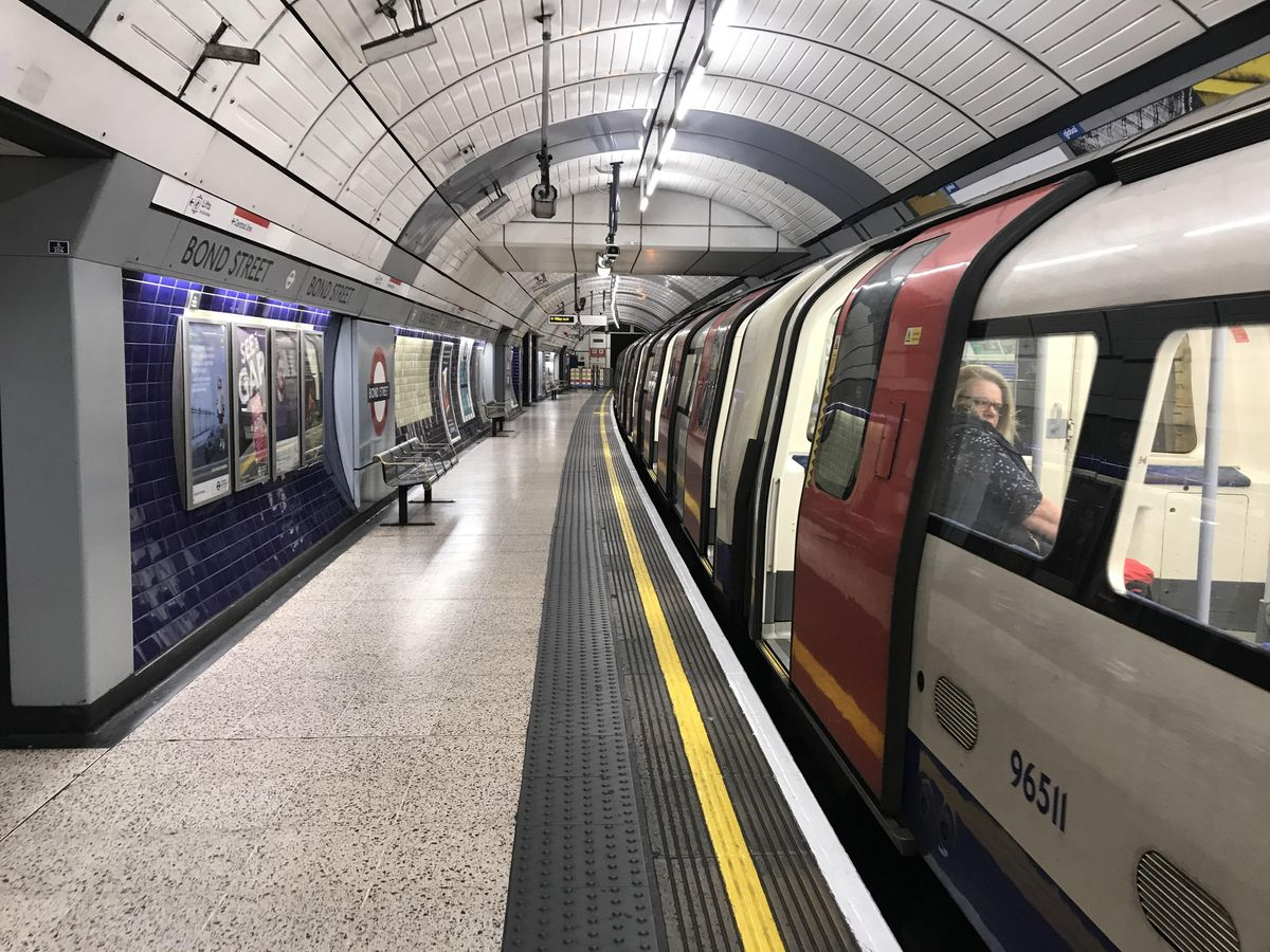 Driverless Tube train