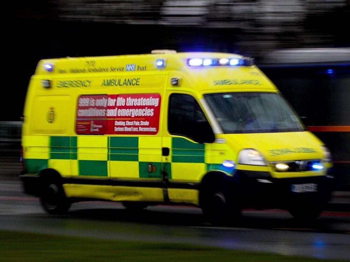 Paramedics are at the scene