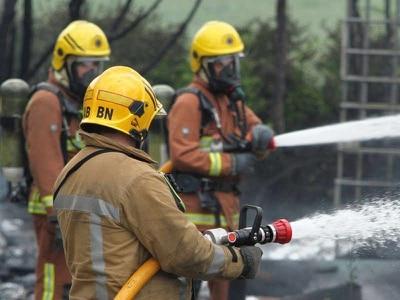 Twenty-five firefighters tackle Bloxwich recycling centre blaze