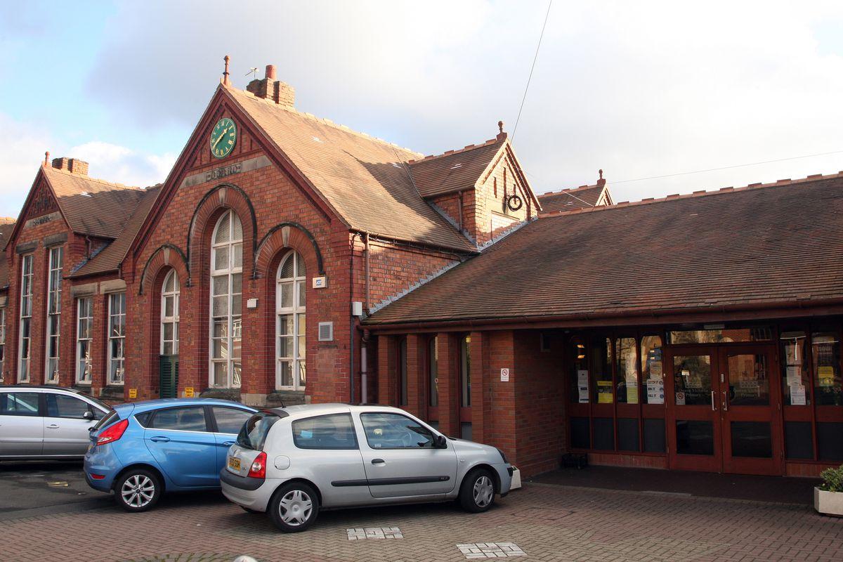 Queen Victoria Primary School, in Bilston Street, Sedgley