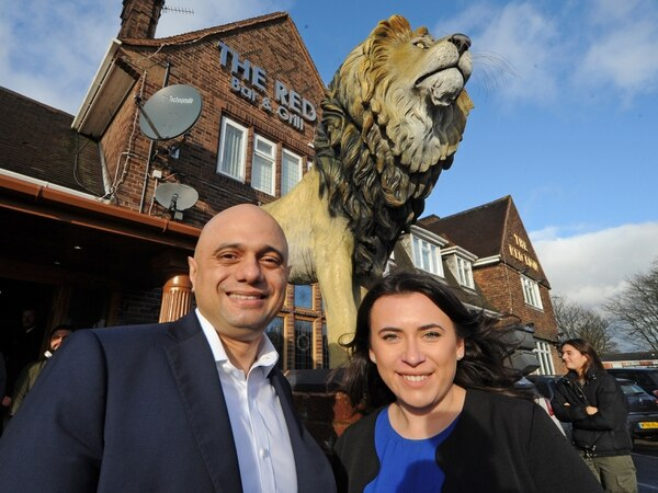 Sajid Javid in West Bromwich: Labour are the liars, not us