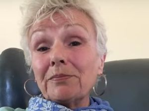 Dame Julie Walters in the video