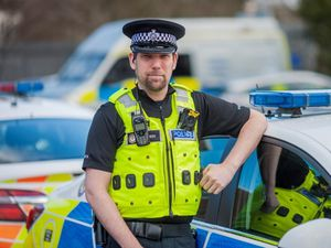 Iain in his role as a Special. Photo: West Midlands Police