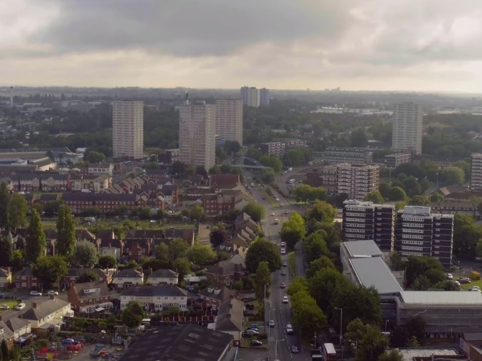 WATCH: New drone film shows Wolverhampton from the skies