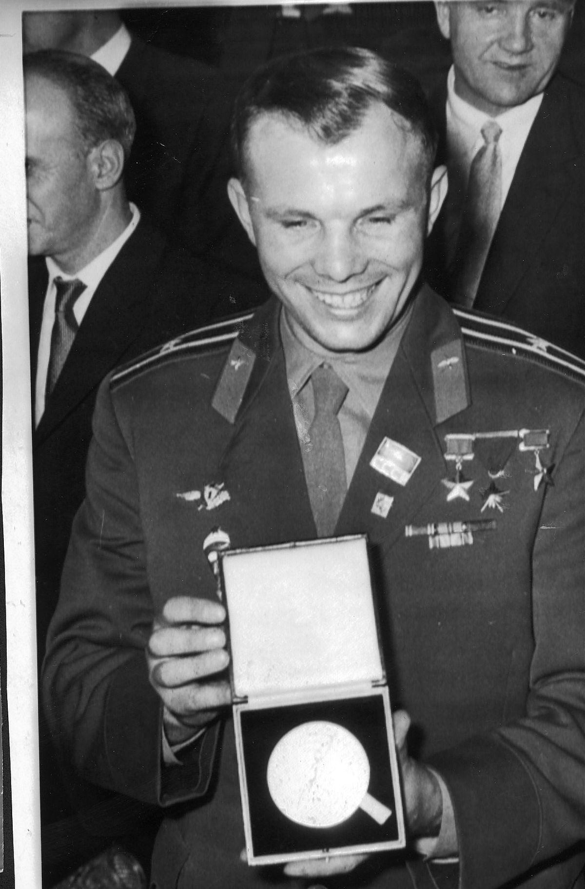 Yuri Gagarin – the astronaut with the winning smile
