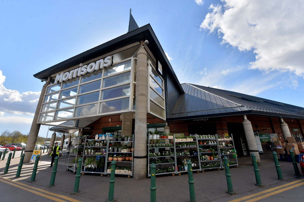 The baby was found in the car park of Bilston Morrisons