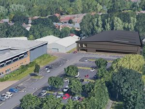 An artist's impression of how the technical centre will look at Wolverhampton College's Wellington Road campus