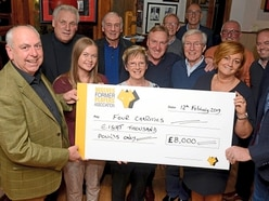 Wolves greats tee up a big score for charity