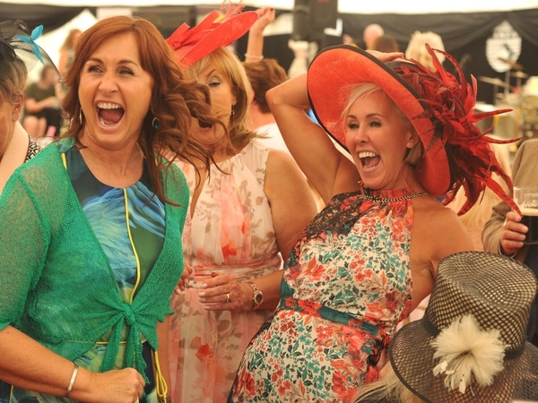 Ladies Day glamour at Wolverhampton Rugby Club - with PICTURES