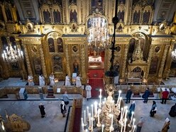 Moscow's main Russian Orthodox cathedrals reopen to churchgoers
