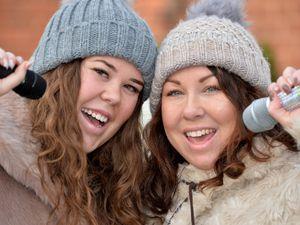 Helen James and her daughter Kaisha Thrower from Wednesbury