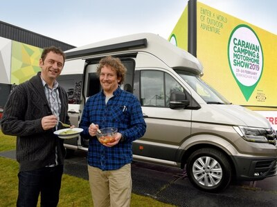 Hitch up for Caravan, Camping and Motorhome Show in Birmingham
