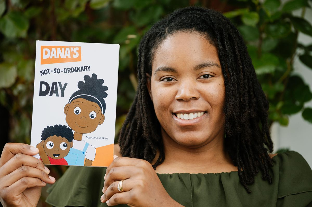 """Mawuena Rankine from Wednesbury is the author of """"Dana's not-so-ordinary day"""" which has launched her debut children's book to highlight the issue of homelessness"""