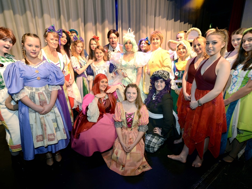 Halesowen's Startime Variety perform Cinderella in memory of late member