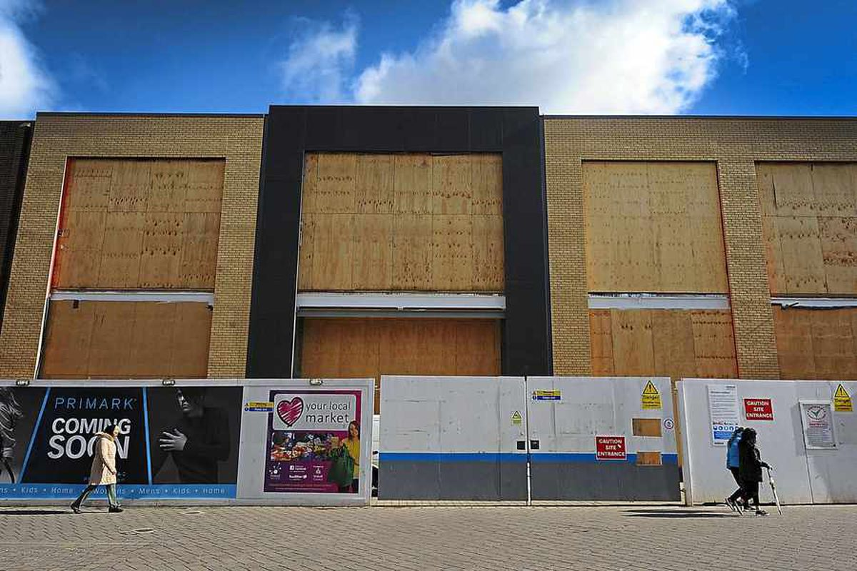 New Primark taking shape in Walsall town centre