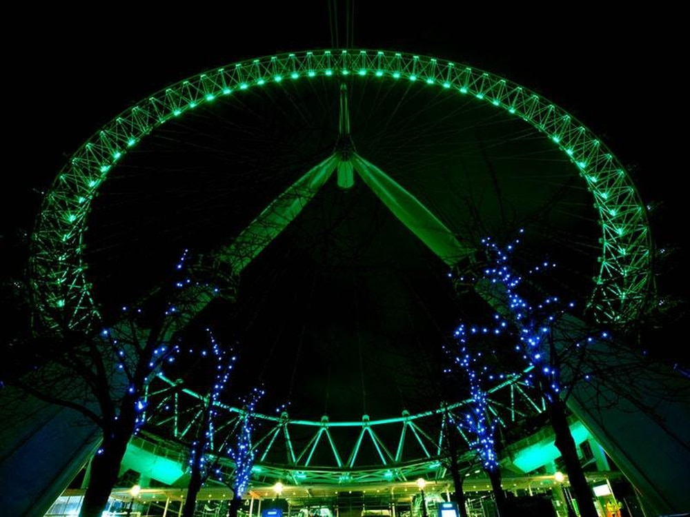 In Pictures: Landmarks lit up for St Patrick's Day