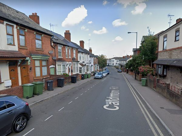 The incident took place on Caldmore Road in Walsall. Pic: Google