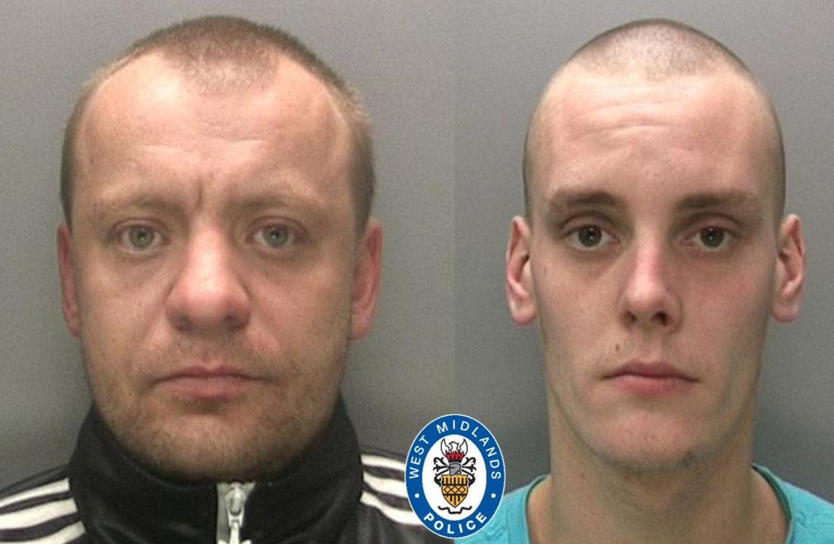 'Enforcers' Lukazs Wyrinski and Mateus Natkowski were also jailed..