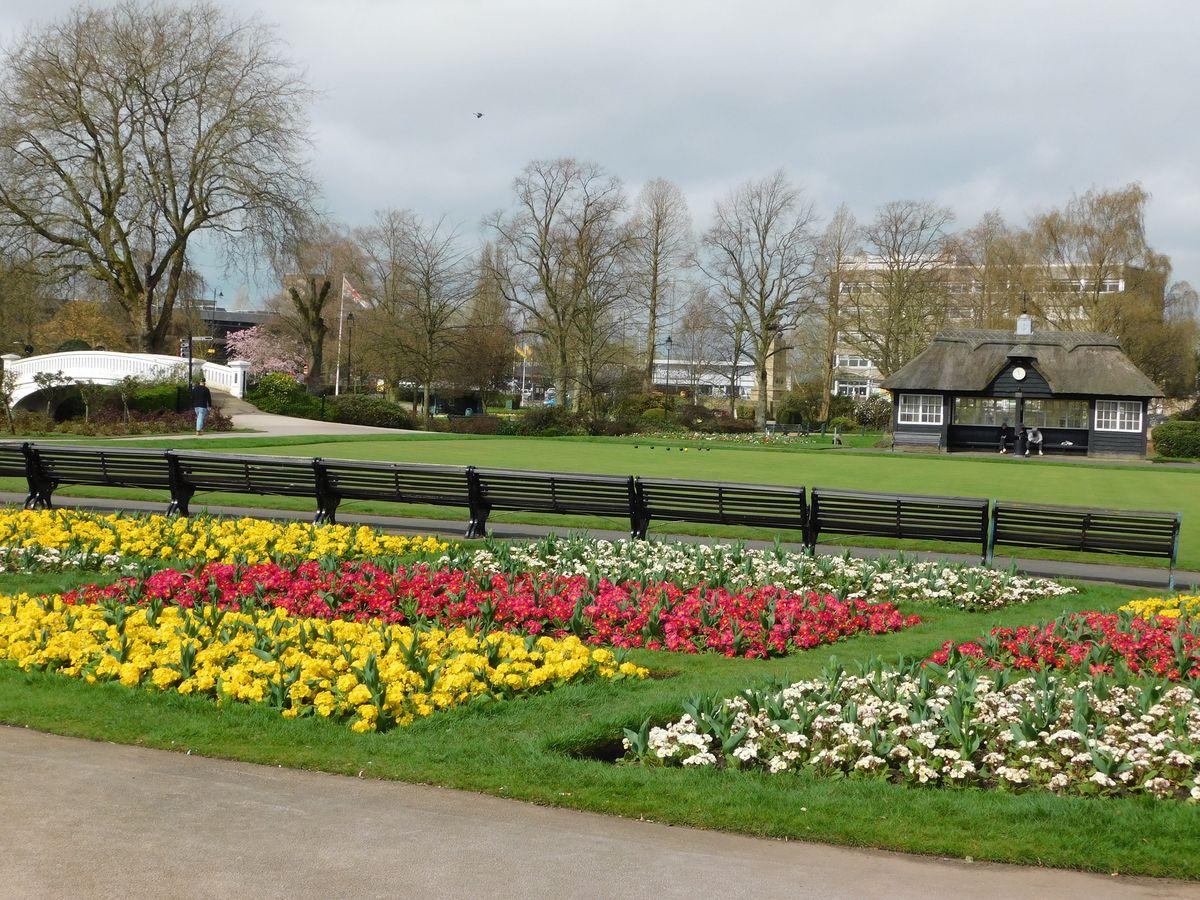 Victoria Park in Stafford