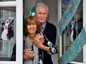 Gladys and Stanley Probin have been celebrating 70 years of marriage at their home in Rowley Regis