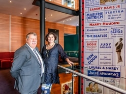 Star names honoured with roll call at new Birmingham Hippodrome display