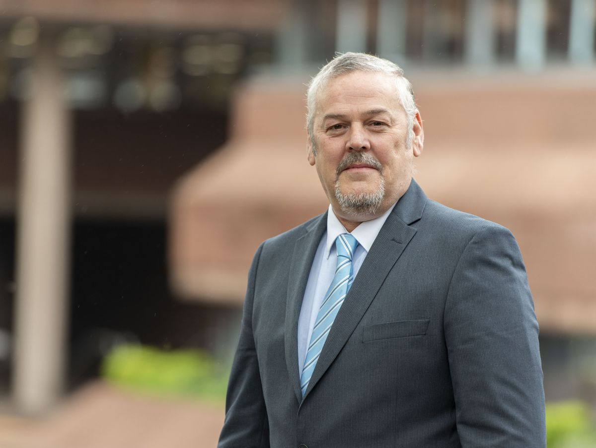 City of Wolverhamapton Council Leader Councillor Ian Brookfield
