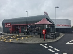 Check out the latest Costa Coffee drive-thru to open