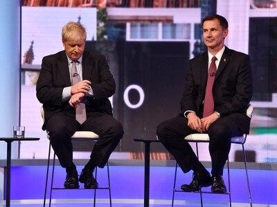 Jeremy Hunt swipes at Tory leadership rival Boris Johnson's Brexit stance