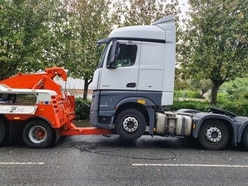 Stolen lorry recovered in Dudley