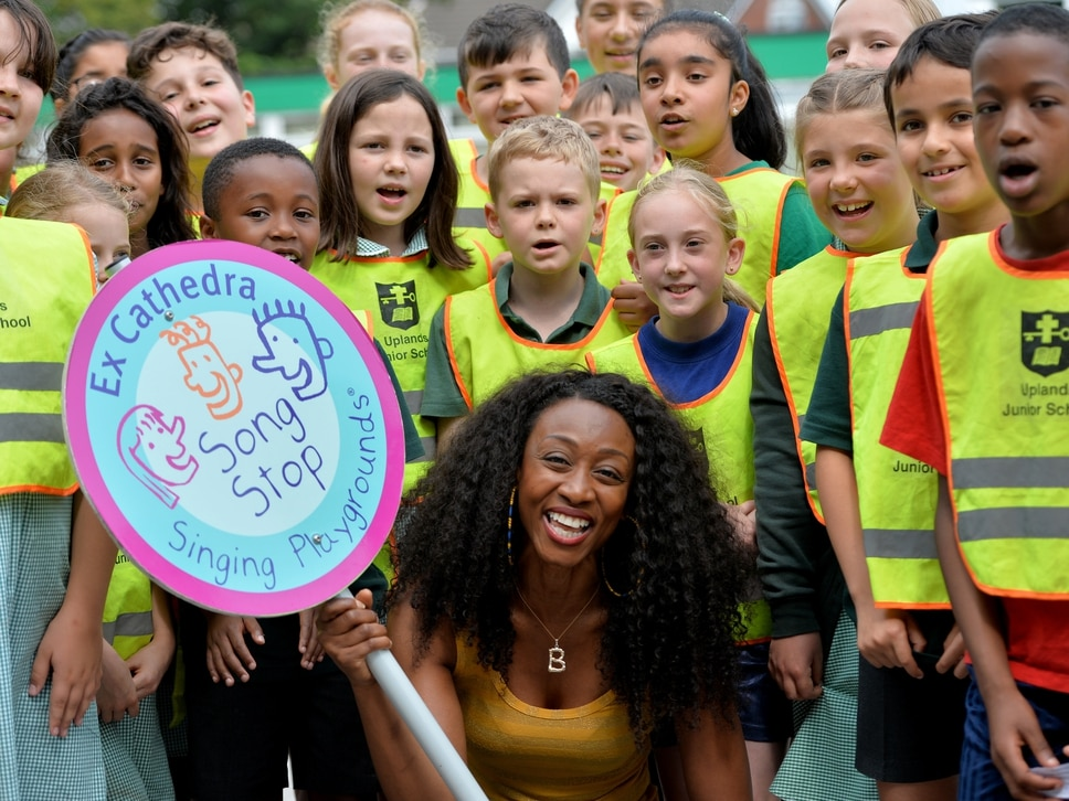 Beverley Knight hits right notes with Black Country pupils