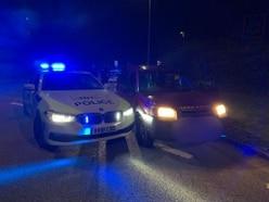 Arrests after police use stinger to stop stolen Land Rover in Bridgnorth