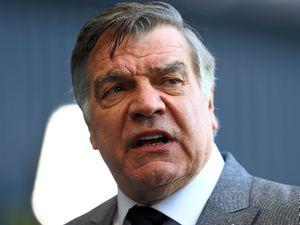 File photo dated 07-03-2021 of West Bromwich Albion manager Sam Allardyce reacts after the final whistle during the Premier League match at The Hawthorns, West Bromwich. Issue date: Friday March 12, 2021. PA Photo. Sam Allardyce would rank Premier League survival with West Brom as the greatest escape act of his 30-year managerial career. See PA story SOCCER West Brom. Photo credit should read Michael Steele/PA Wire..