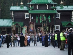 Pilgrims commemorate 100th anniversary of killing of Russia's last tsar