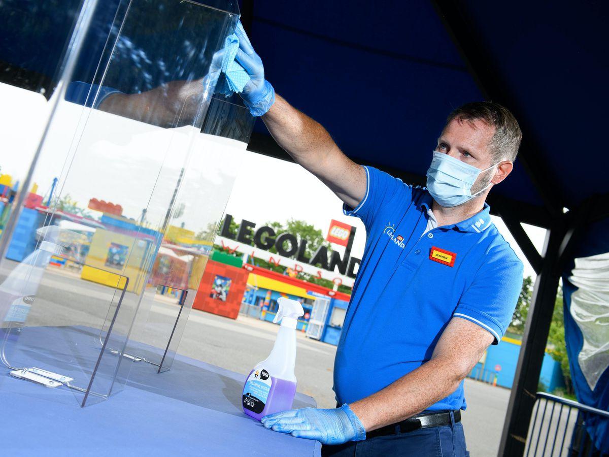 Legoland prepares to reopen
