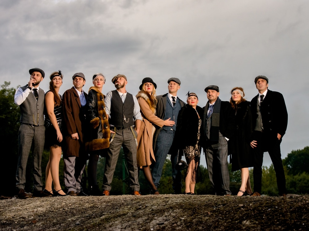 Peaky Blinders Fans Dressed To Impress At Black Country