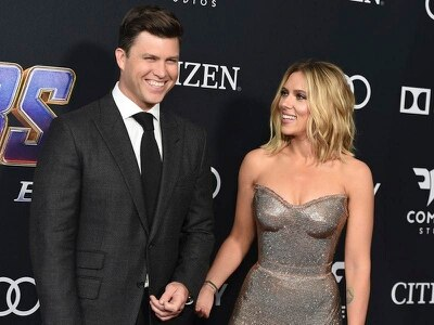 Scarlett Johansson and Colin Jost reveal engagement