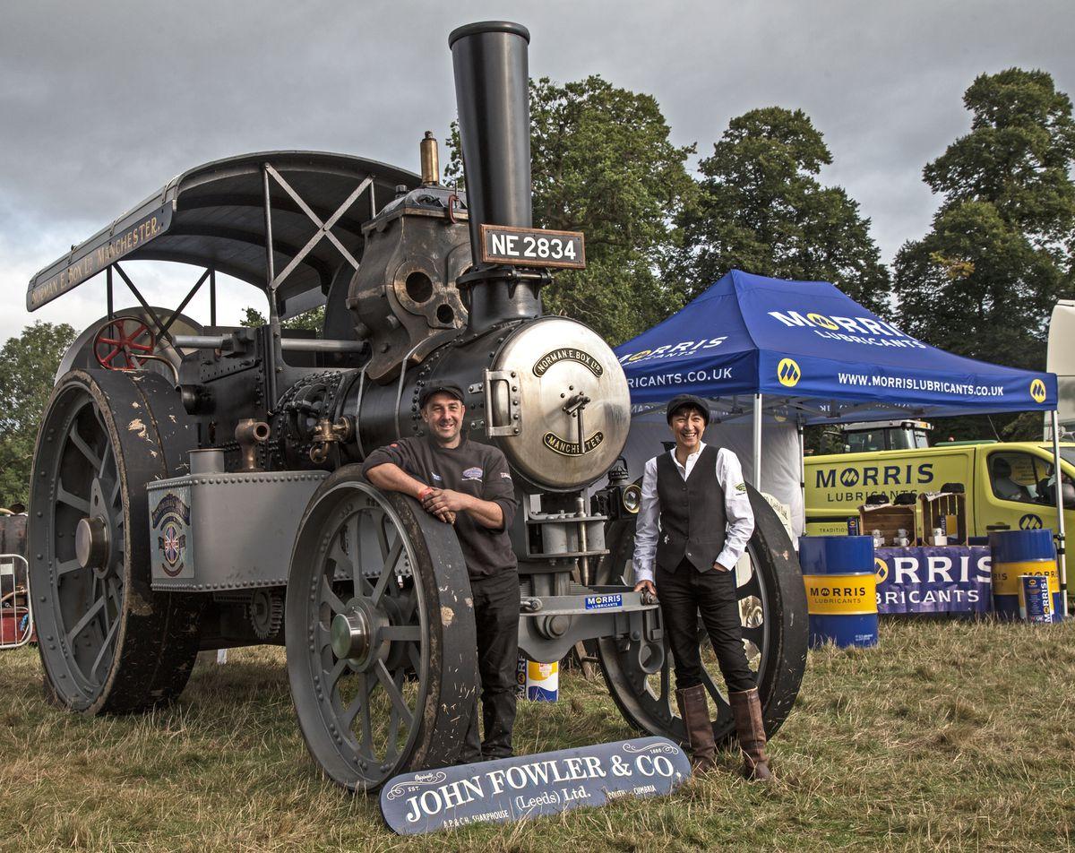 The Talisman at Shrewsbury Steam Rally in 2018