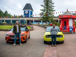 BBC's Top Gear resumes filming at Alton Towers in Staffordshire