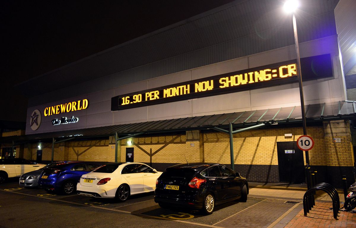 Cineworld at Bentley Bridge, Wolverhampton