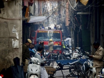 New Delhi fire leaves at least 43 people dead