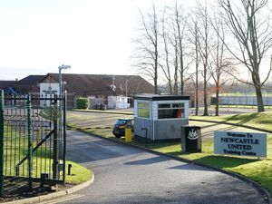 A general view of the Newcastle United Training Centre.