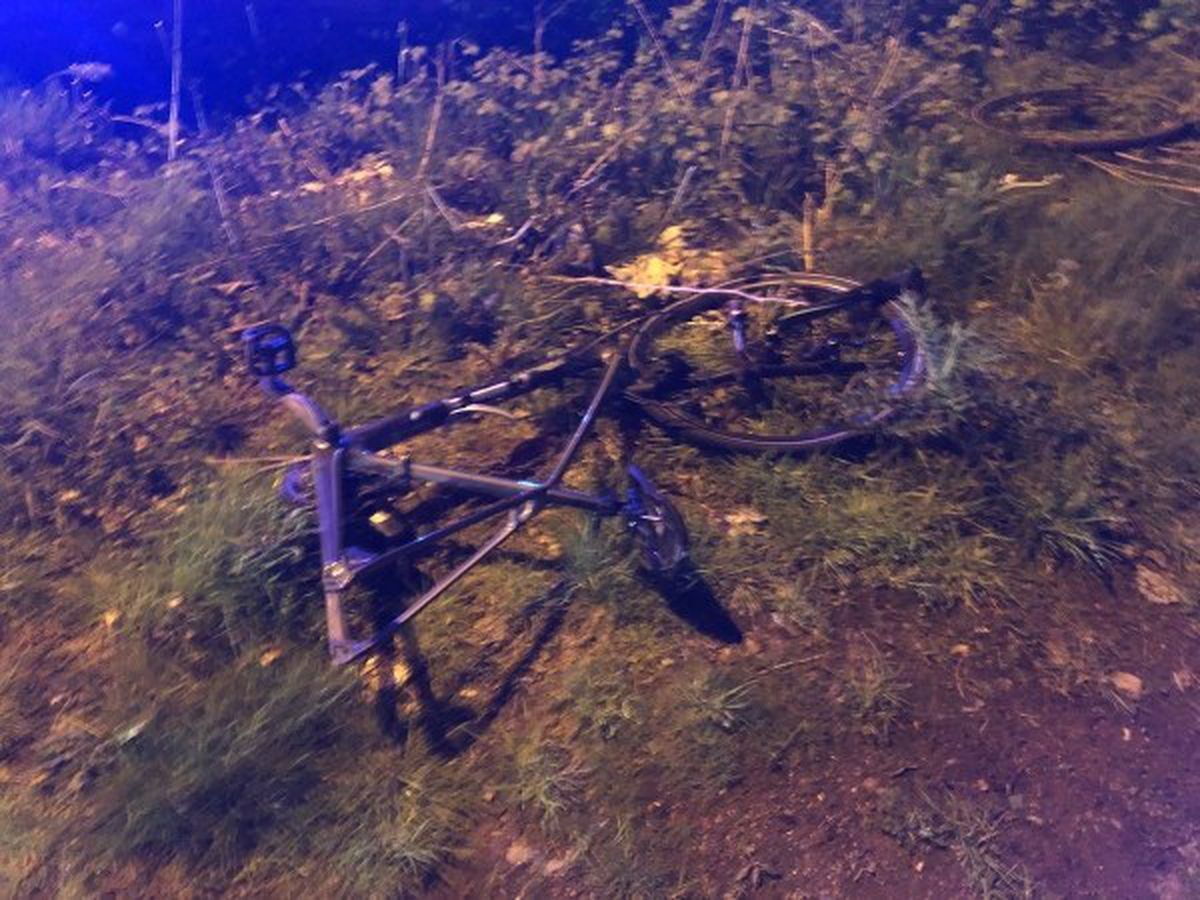 The second bike after the crash