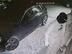 WATCH: CCTV shows moment £35,000 Audi stolen from driveway