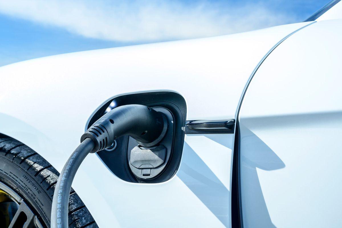 An electric car