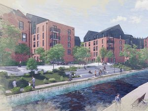 Artist impression of the proposed Union Mill development in Wolverhampton. Photo: JM Architects