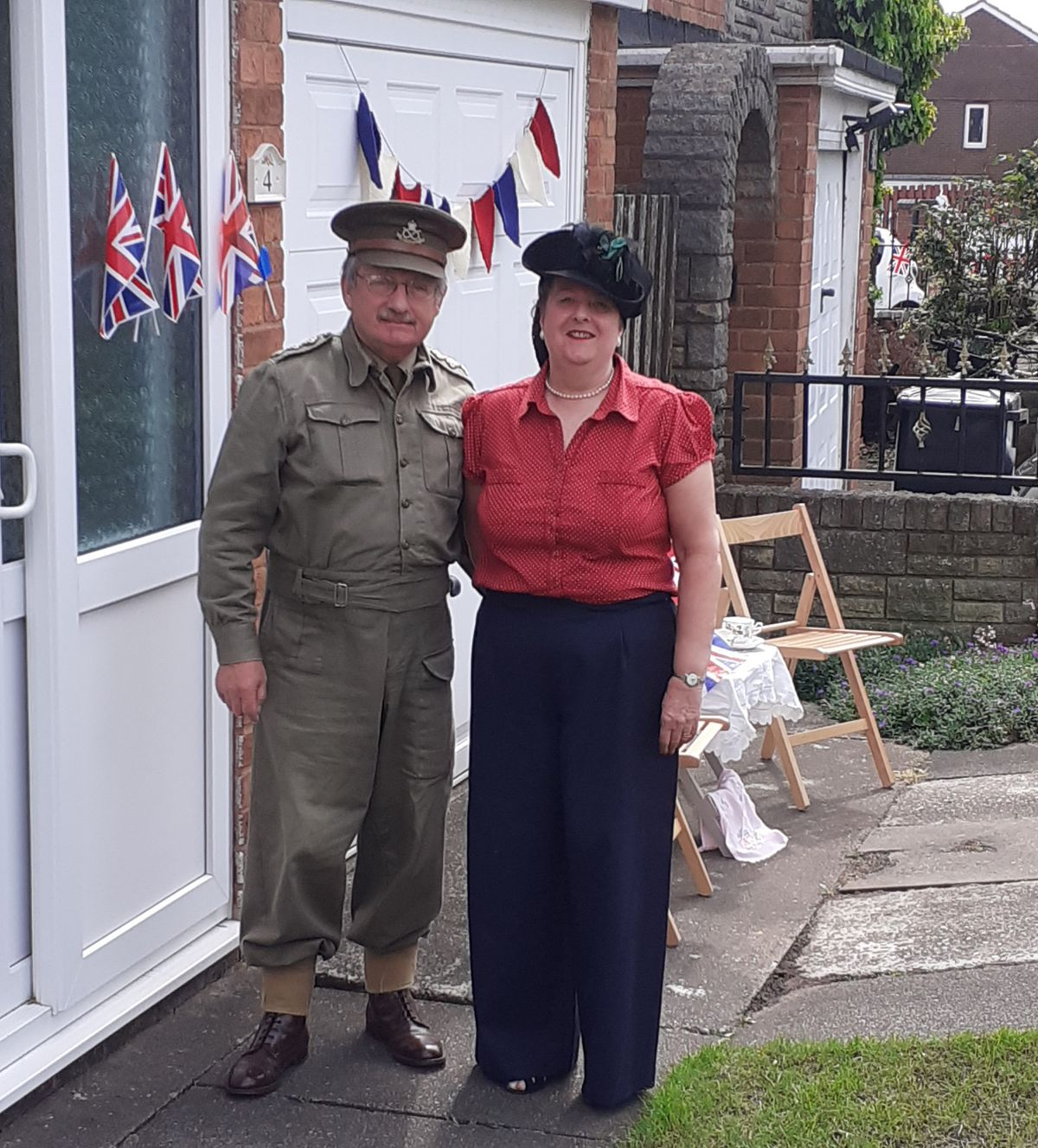 Linda and Bruce Macefield in the spirit in Coseley