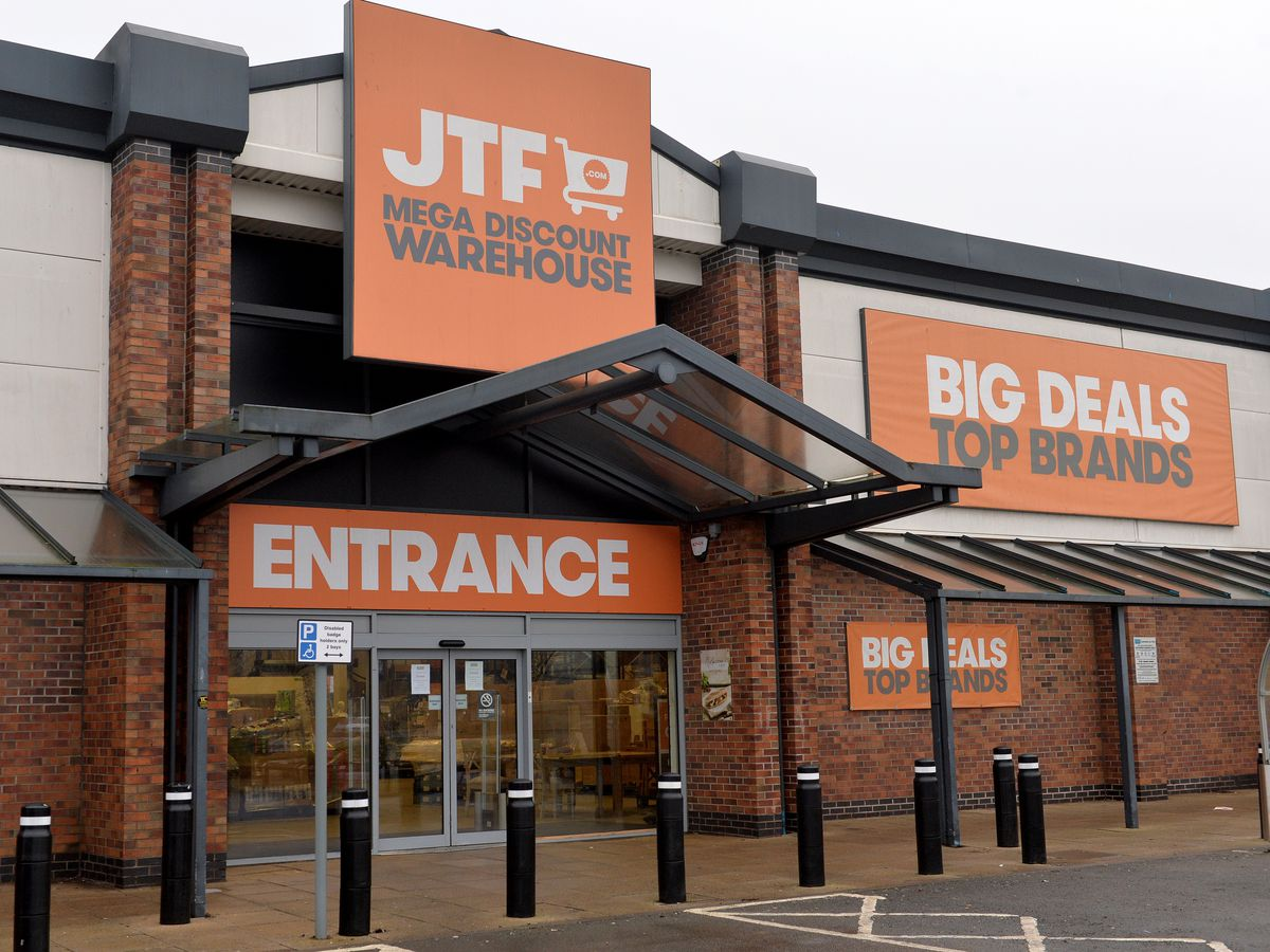 JTF has closed its store at Bescot Retail Park, off Bescot Crescent, in Walsall