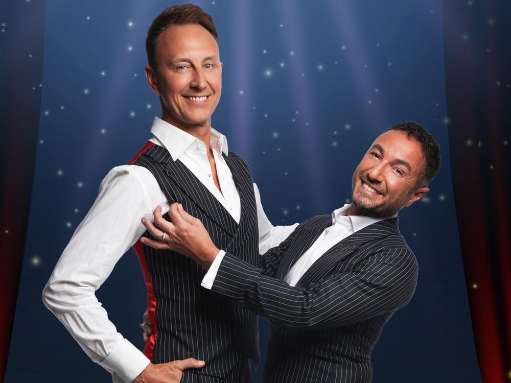 The Ballroom Boys: Sequinned sensations Vincent Simone and Ian Waite waltz into town