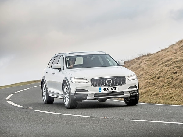 Volvo's well-equipped V90 has real presence on the road