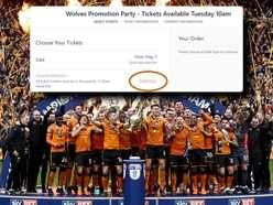 Wolves promotion party tickets sell out in just 50 minutes